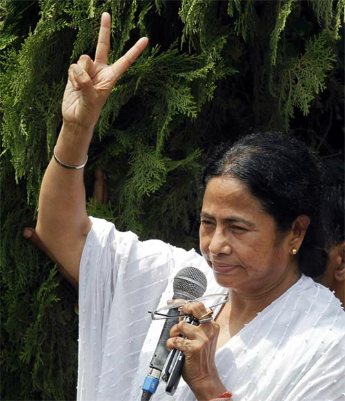 Mamata Banerjee reveals national ambitions.