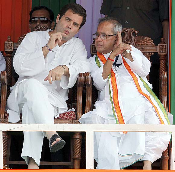 Rahul Gandhi, leader-in-waiting.