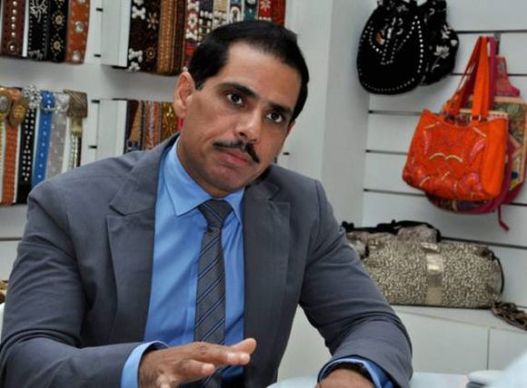 Robert Vadra on Facebook: 'I can handle all the negativity'
