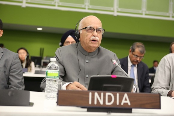 L K Advani at the UNGA