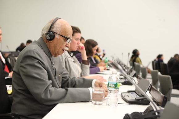 L K Advani at the UNGA