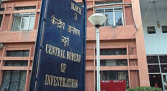 The CBI headquarters in New Delhi