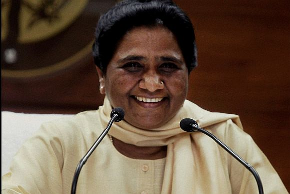 Mayawati keeps the sword hanging over UPA