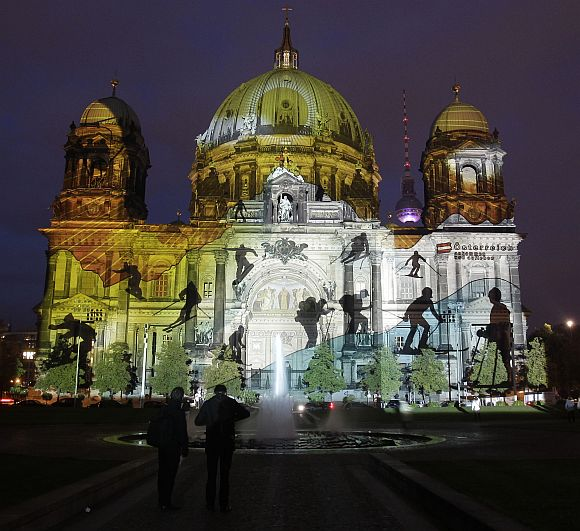 Berlin's spectacular festival of lights