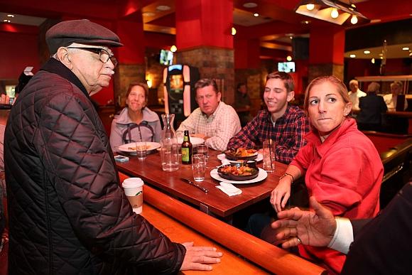 IN PICS: L K Advani enjoys a Starbucks in New York
