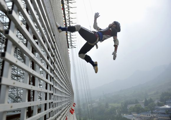 Death-defying daredevilry from around the world