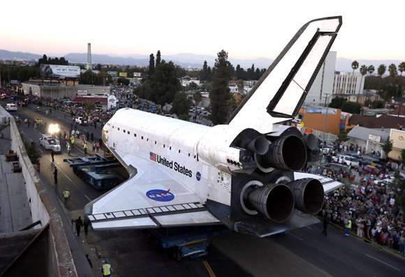 In PHOTOS: Space shuttle Endeavour's road trip
