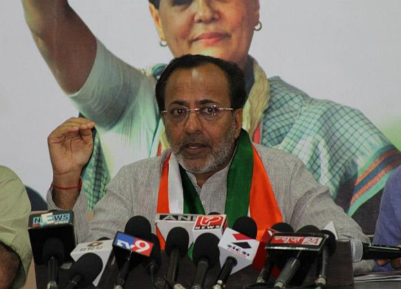 Gujarat Pradesh Congress Committee President Arjun Modhwadia