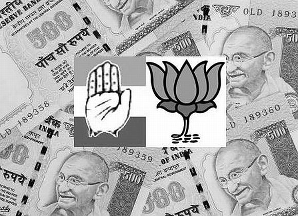 BJP pockets more donations than Congress in Himachal