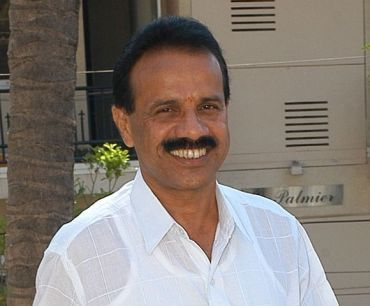 Former Karnataka chief minister Sadananda Gowda