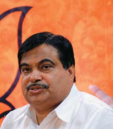 BJP national president Nitin Gadkari