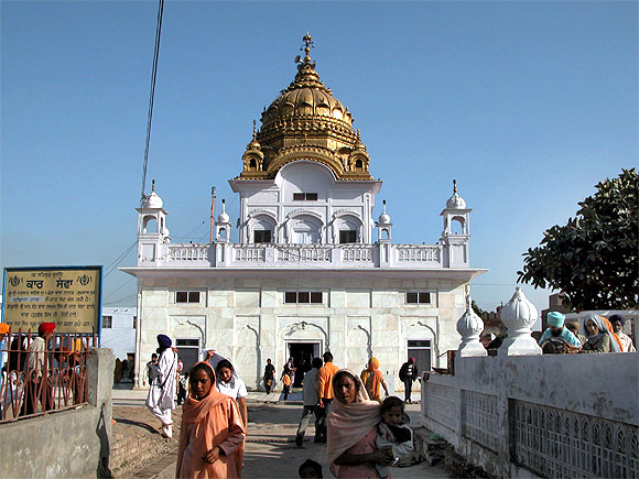 The Dera Baba Nanak gurudwara
