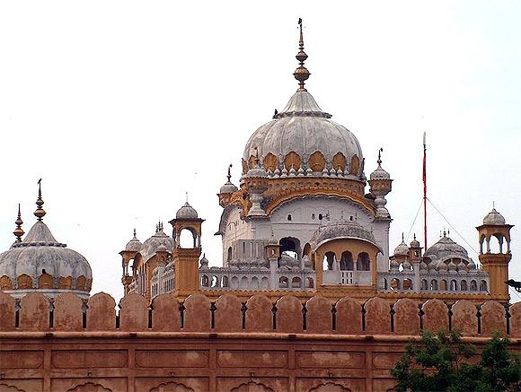 Ranjit Singh's samadhi near Lahore fort, Pakistan