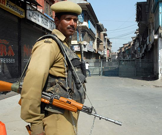 Why are police, paramilitary men not martyrs?