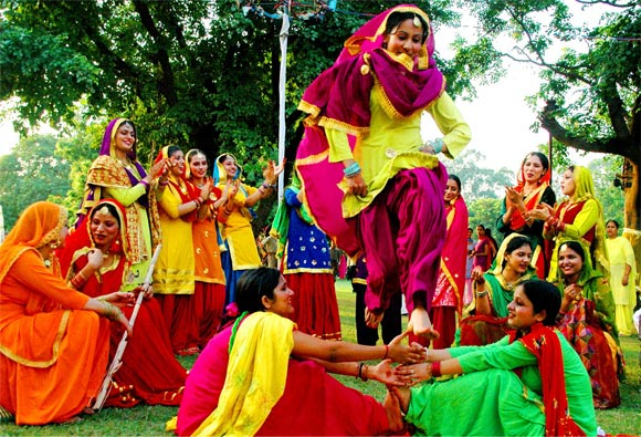 Festive celebrations in Punjab