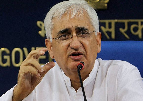 I am confident that I will be able to come out of it, says Salman Khurshid