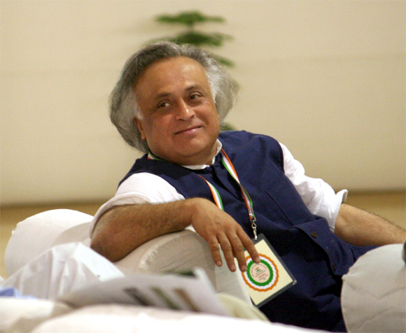 Union Minister Jairam Ramesh didn't expect his mother to be angry with him.