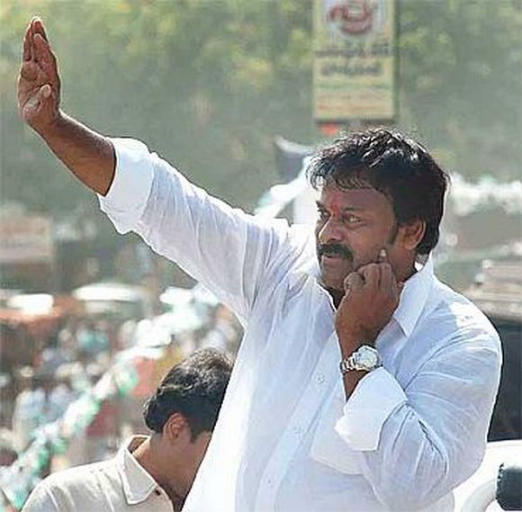 Chiranjeevi has been rewarded with the rank of minister of state and will be looking after the tourism ministry.