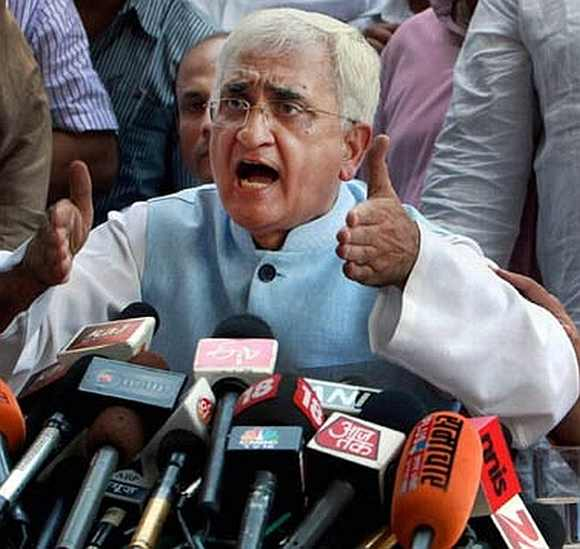 Salman Khurshid is the new external affairs minister