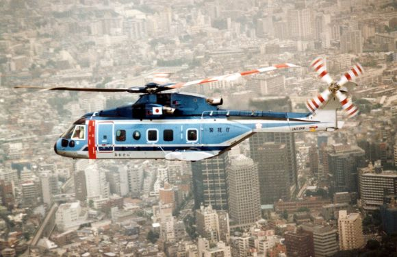 Agusta Westland's AW101 helicopter