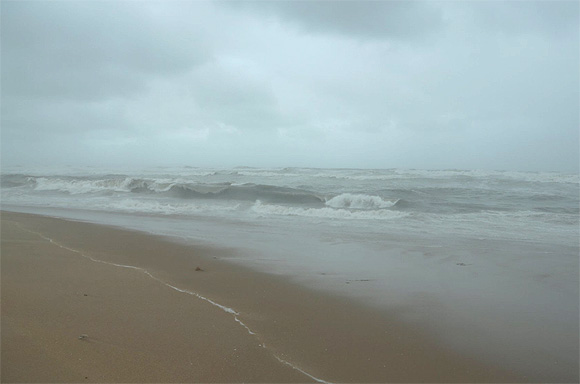 Windy, wet and waiting for Nilam