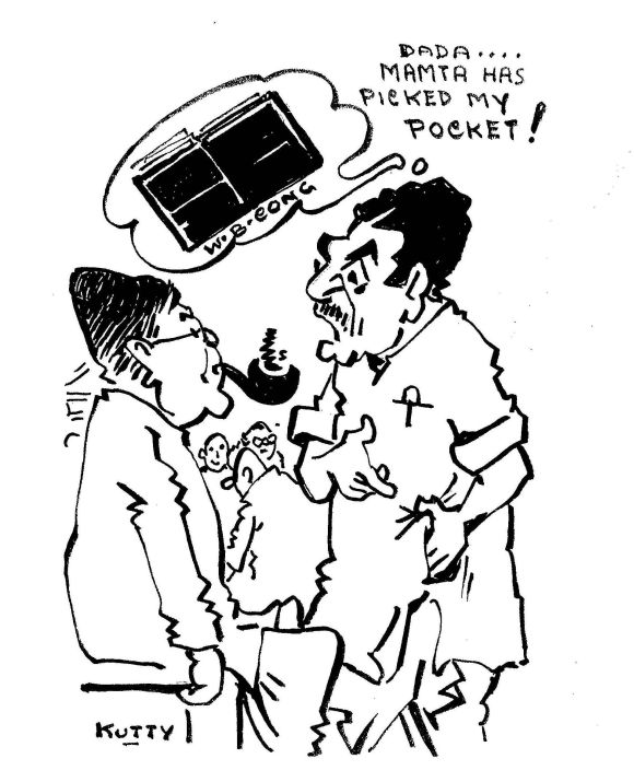 MUST SEE! President Pranab in Kutty's cartoons