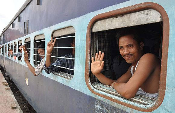 Feeling safer, Assamese take the train to Bengaluru