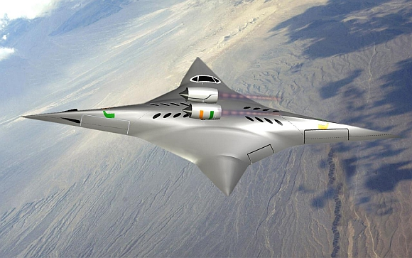 IN PICS: The 'Ninja' plane that can rotate in mid-air!