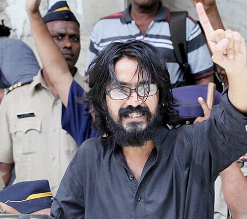 Cartoonist Aseem Trivedi