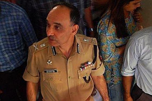 Mumbai Police Commisioner Dr Satyapal Singh