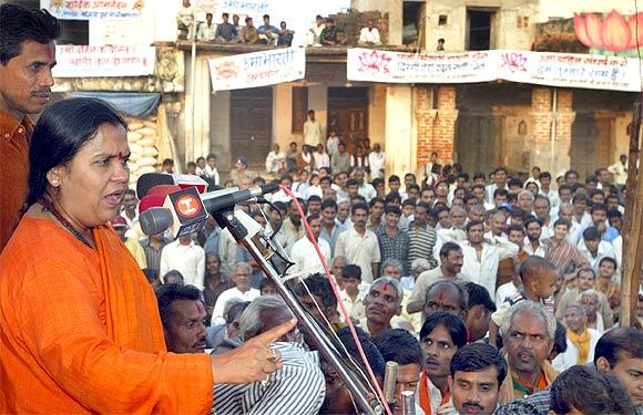 Uma Bharti is planning a Save Ganga yatra.