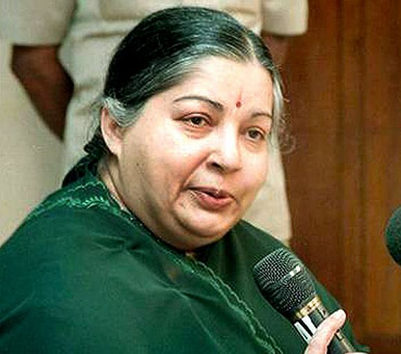 Tamil Nadu Chief Minister J Jayalalithaa