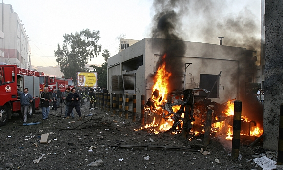 January 2008: Beirut, Lebanon