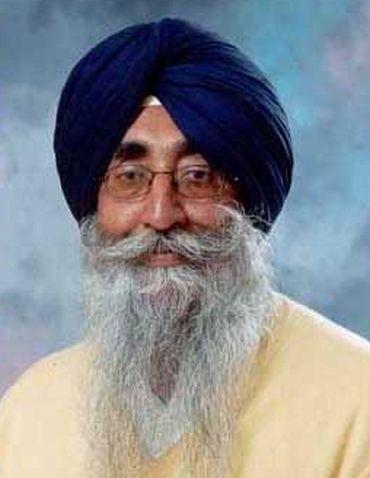President of the Shiromani Akali Dal-Amritsar Simranjit Singh Mann