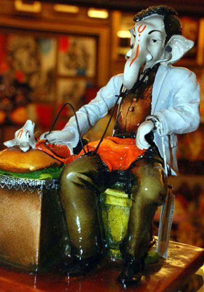 Ganeshotsav Photos Lord Ganesh In Many Avatars Rediffcom News