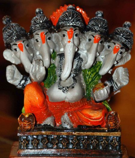 Lord Ganesh in many avatars