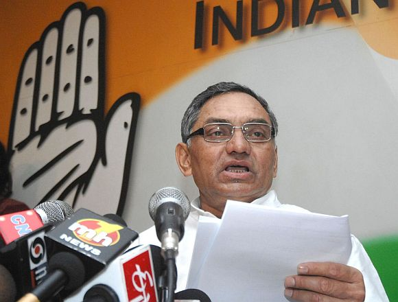 Congress general secretary Janardan Dwivedi