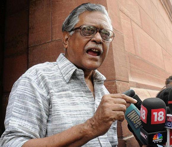 CPI leader Gurudas Dasgupta