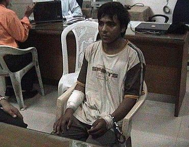 Kasab, the lone surviving suspected gunman in the 2008 Mumbai attacks