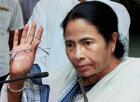 West Bengal Chief Minister and Trinamool Congress supremo Mamata Banerjee.