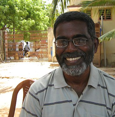 He is fighting the election against India's nuclear policy :    S P Udayakumar, Anti-nuclear activist