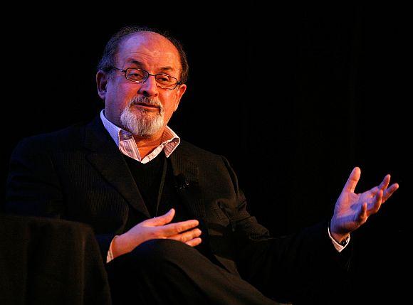 Scolding a PM was arrogant: Salman Rushdie
