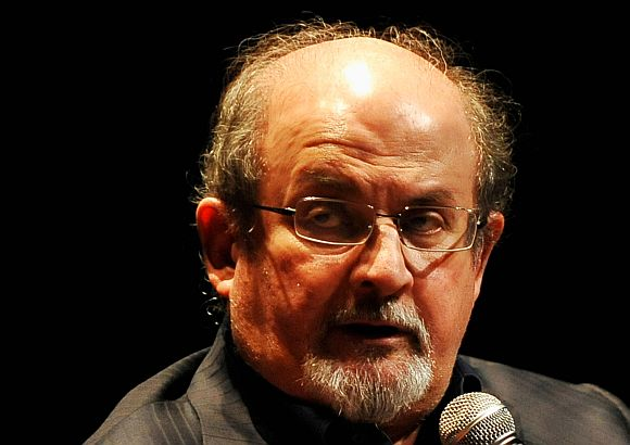 Bhujbal was a 'walking political cartoon': Rushdie