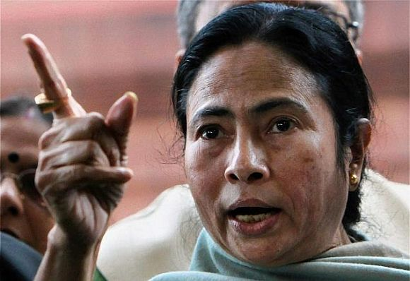 Cong using money power, muscle power, mafia power: Mamata