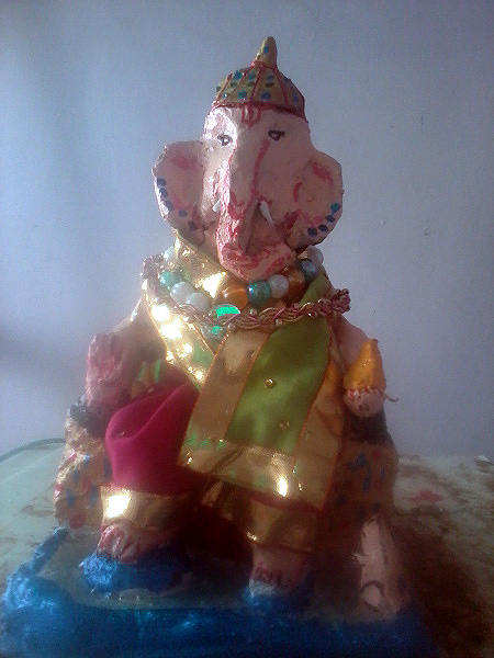Readers' Pix: Lord Ganesh with a modern twist!