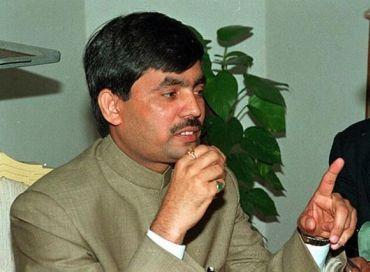 BJP spokesperson Shahnawaz Hussain.