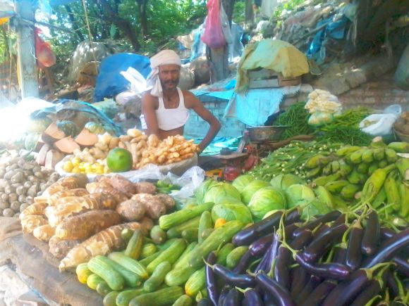 Vegetable vendors across the national capital are worried about their future after FDI in retail is put in place