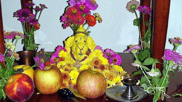 Readers' Pix: The eco-friendly Lord Ganesh!