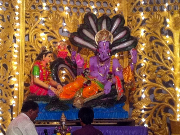 Pix: Magnificent Ganesh murtis from mandals world over