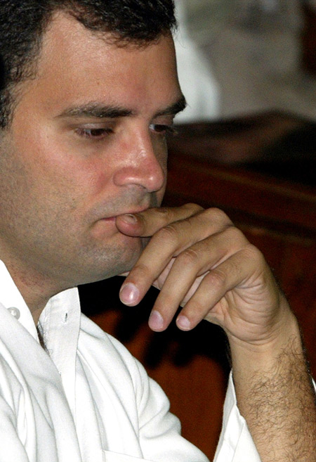 Did Rahul Gandhi want to become a Cabinet minister?